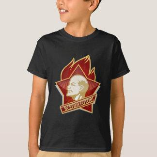 Young Pioneers Lenin Ленин Communist Soviet Union T-Shirt