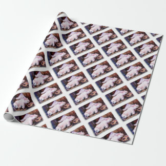 YOUNG POLAR BEARS WRAPPING PAPER