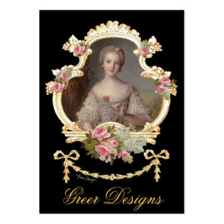 Young Princess Louise Marie of France Large Business Card