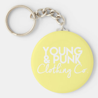 YOUNG&PUNK Clothing Co. Key Jewelry Keychain