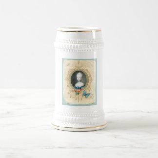 Young Queen Marie Antoinette Stein Mug