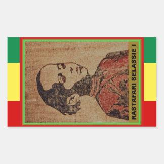 Young Ras, Young Haile Selassie I, Jah Rastafari Sticker