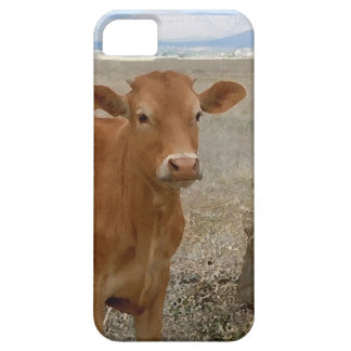 Young Red Heifer Cow iPhone 5 Covers