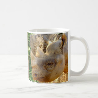 Young Rhino Coffee Mug