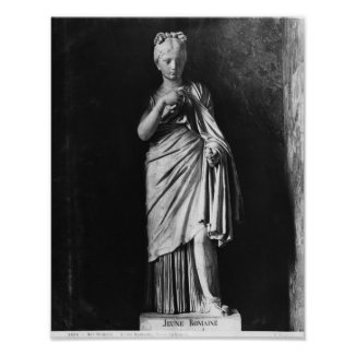 Young Roman girl Poster