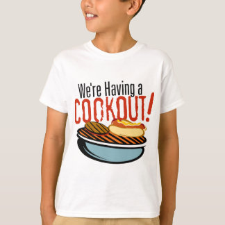 Young rower Cookout T-Shirt