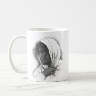 Young Sicily Woman With Cloak Coffee Mug