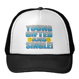Young Single Life B Trucker Hat