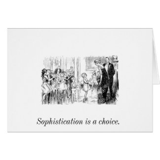 Young Sophisticate Postcard