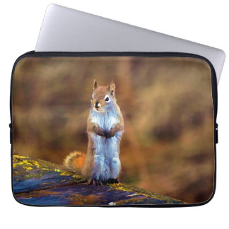 Young Squirrel Standing Tall Laptop Sleeve