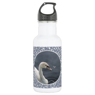 Young Swan & Feather 532 Ml Water Bottle