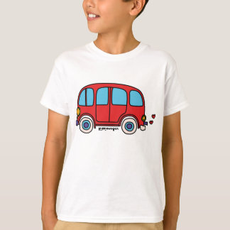 Young t-shirt hippie van goes