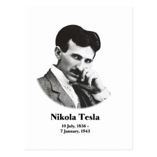 Young Tesla Postcard
