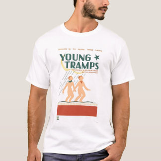 Young Tramps Dance 1936 WPA T-Shirt
