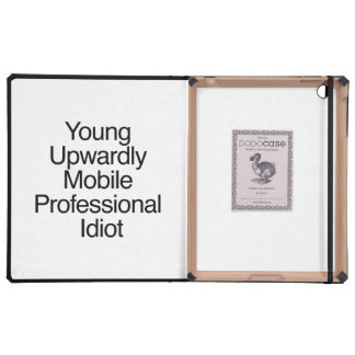 Young Upwardly Mobile Professional Idiot.ai iPad Cases
