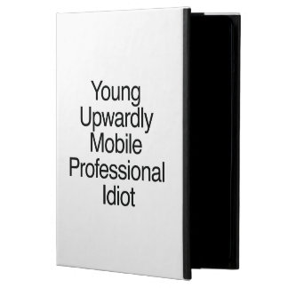 Young Upwardly Mobile Professional Idiot.ai iPad Air Covers