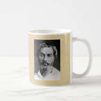 Young Walt Whitman Portrait Coffee Mug