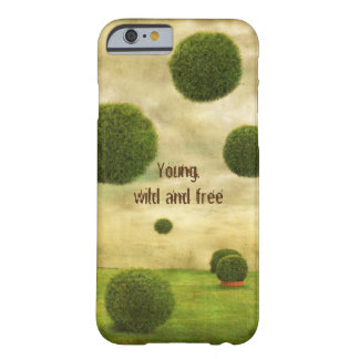 Young, wild and free barely there iPhone 6 case