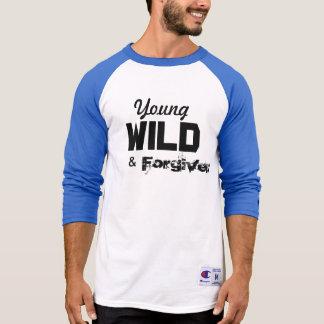 Young, Wild & Forgiven Baseball T T-Shirt