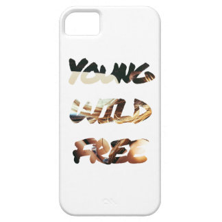 Young, Wild & Free iPhone Case from Hawaias