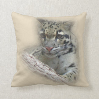 Young Wildcat Throw Pillow