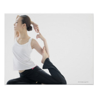 young woman beauty,yoga 2 poster