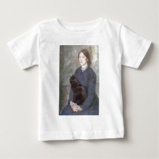 Young Woman Holding a Black Cat - Gwen John Baby T-Shirt