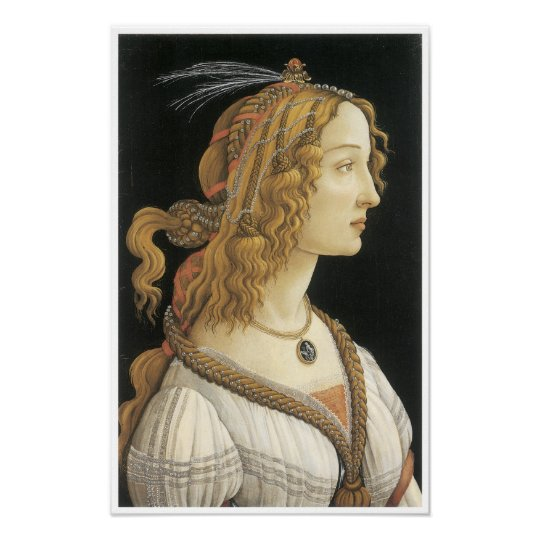 Young Woman in Mythological Guise, c. 1480-85 Poster