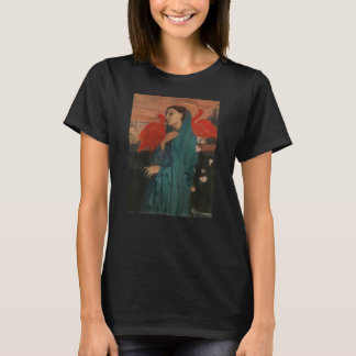 Young Woman with Ibis T-Shirt