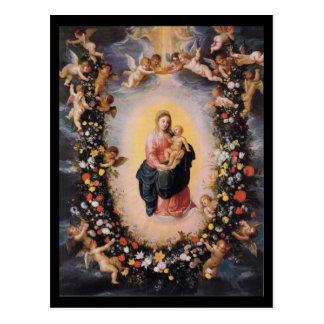 Younger Madonna With Child Balen Brueghel Postcard
