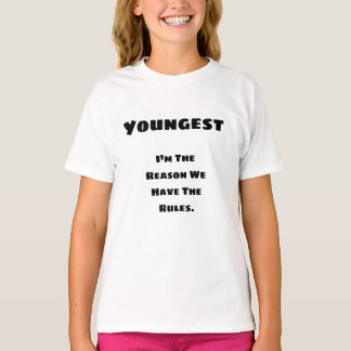 Youngest Rules Shirt