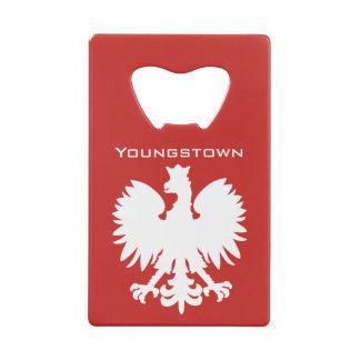 Youngstown Polish Eagle Bottle Opener Credit Card Bottle Opener