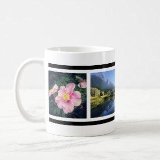 Your 4 Fave Photos Custom Instagram Pics Classic White Coffee Mug