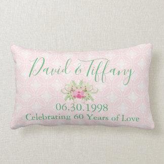 Your 60th Wedding Anniversary Lumbar Pillow