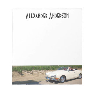 Your Auto and Custom Name Notepads