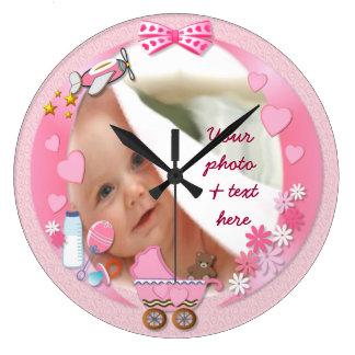 Your  Baby Photo Clock