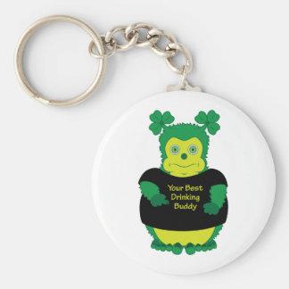 Your best drinking buddy - Irish funny keychain