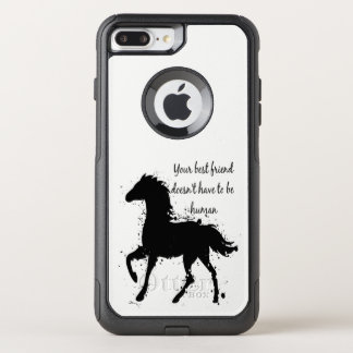 Your best friend doesn't have to be human. OtterBox commuter iPhone 8 plus/7 plus case
