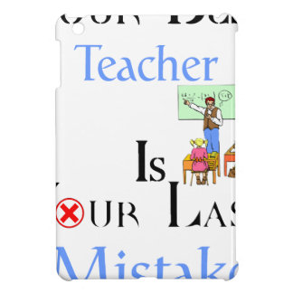 Your Best Teacher is Your Last Mistake Cover For The iPad Mini