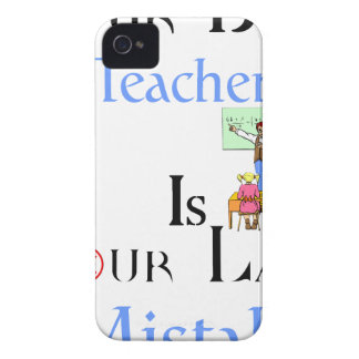 Your Best Teacher is Your Last Mistake iPhone 4 Case-Mate Case