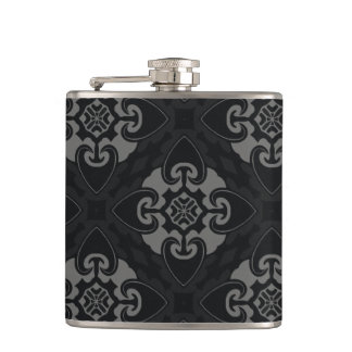Your Black Heart Tribal Hip Flask