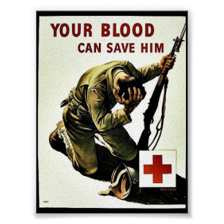 Your Blood Can Save Him Poster