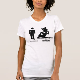Your Boyfriend My Boyfriend Supermoto T-Shirt