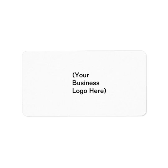 (Your Business Logo Here) Label