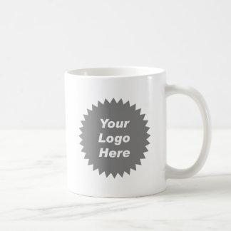 Your business logo here promo basic white mug