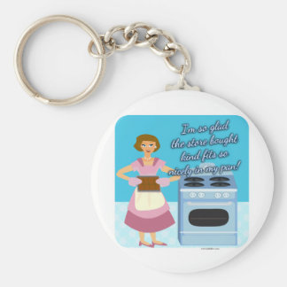 Your Cheatin Brownies Snarky Housewife Keychain