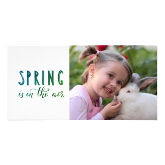 Your child Easter photo -  spring Card
