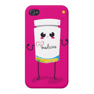Your chocolate is the only medicine... covers for iPhone 4
