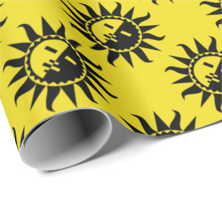 Your Color and Sun Flashes Wrapping Paper