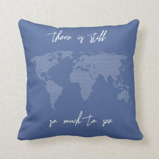 Your Color There is Still So Much to See Travelers Throw Pillow